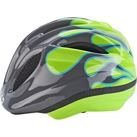 KED Meggy II Trend Helmet Kids flame grey green